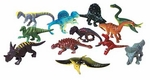 "Small Dinosaur Figures, 2"", 12 pcs"