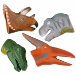 Large Dinosaur Finger Puppets, 4 pcs