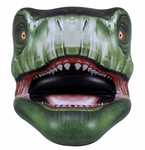 Special Offer: Inflatable T-rex Dinosaur Head Pool Float 65""