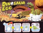 Dinosaur Growing Egg Toy, 3 inch