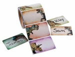 Dinosaur Labels Names Tags, 100 pcs