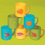 Dinosaur Mugs, 12 pcs