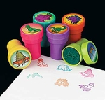 Dinosaur Stampers Party Favors, 6 pcs