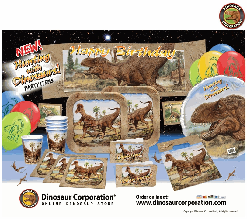 Dinosaur Party Ideas With Our Birthday Supplies