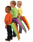 Dinosaur T-rex Plush Tail Costume, 3 pcs