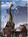 Brachiosaurus Dinosaur School Notebook