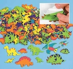 Dinosaur Shapes Peel and Stick, 500 pcs