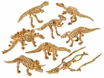 "Dinosaur Skeleton Figures 2"", 48 pcs."