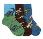 Children's Jurassic World Dinosaur Socks, 3 Pairs