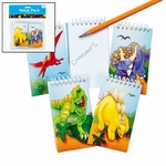 Dinosaur Notepads, 12 pcs