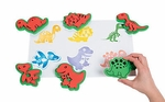 Large Dinosaur Foam Stamps, 6 pcs