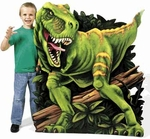 "Giant T-REX Photo Stand,  Dinosaur Cardbard Stand Up, 51"" x 40"""