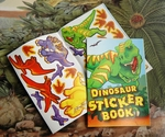 T-rex Dinosaur Stickers Books, 12 pcs