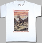 Dinosaur T-rex T-shirt, Youth XSmall