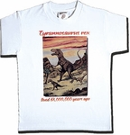 T-rex T shirts Youth, 12 pcs
