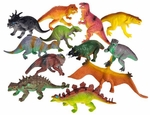 Small Dinosaur Toys Prehistoric Figures, 5-6 inch, 12 pcs