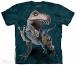 Dinosaur T-rex Graphic T-shirt, 3 pcs