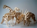 SPECIAL OFFER: Dinosaur Bones Puzzles Skeletons Woodcraft Kits