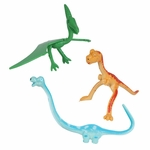 Bendable Dinosaur Figures, 12 pcs