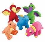 Small Dinosaurs Plush Toys, 36 pcs