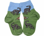 SPECIAL OFFER Children's Jurassic World Dinosaur Socks Brachiosaurus Triceratops