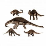 Diplodocus Dinosaurs Group Wall Stickers