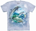 Dolphin Bubble T-shirt Youth & Adult