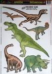 Jurassic World Double Sided Dinosaur Decals Decoration