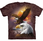 Eagle & Clouds T-shirt (Youth-Large)