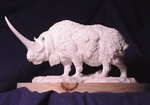 Elasmotherium Model Scale Replica