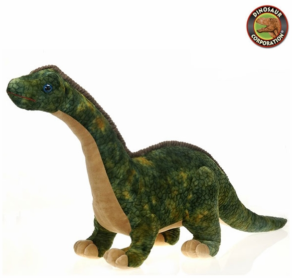 Fiesta Large Greeen Brachiosaurus Soft Plush Diosaur Toy