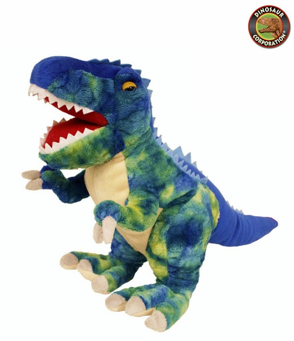 Fiesta Large Blue T Rex Cuddly Soft Dinosaur Plush Toy