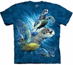 Find 9 Sea Turtles Youth & Adult T-shirt