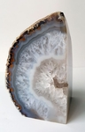 Brazilian Geode Bookend 4.5""