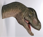 Allosaurus Dinosaur Wall Trophy: Mouth Open 28""