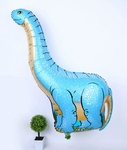 Giant Brachiosaurus Dinosaur Birthday Party Balloon, 46 inch