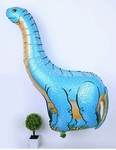 "Giant Blue Brachiosaurus Super Shape Balloons, 46"", 6 pcs."
