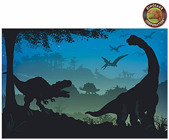 Giant Dinosaur Photo Banner