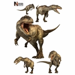 Giganotosaurus Group Wall Stickers