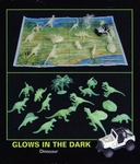 Glow in the Dark Dinosaurs, 19 pcs