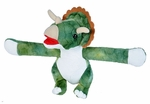 Huggers Triceratops Dinosaur Stuffed Animal, 8""