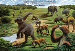 Ice Age Mammals Placemat