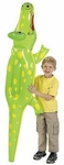Large Inflatable Alligator Reptile Animal Blow Up Toy, 69 inch