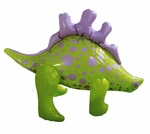 Inflatable Stegosaurus Dinosaur Toy, 12""