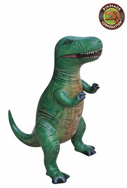 Large Inflatable T-rex Dinosaur Blow Up Toy, 43 inch