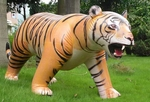 Giant Inflatable Tiger Animal Blow Up Toy, 100 inch