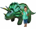 Jurassic World Giant Inflatable Dinosaur Triceratops Blow Up Toy, 120 inch