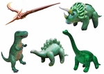 Jurassic World Inflatable Dinosaur Toys, 5 pcs