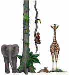 Jungle Wildlife Wall Sticker Collection #2