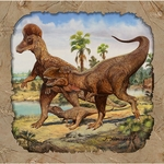 Wholesale Hunting With Dinosaurs T-REX Exclusive Dinosaur Lunch Napkins, 192 pcs